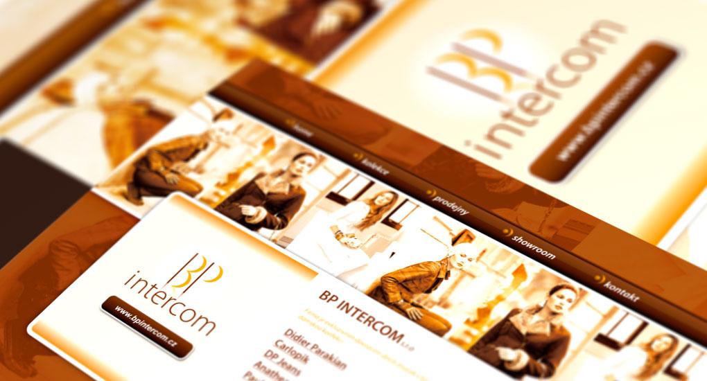 Webová prezentace BP intercom